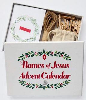 Names of Jesus Advent Calendar